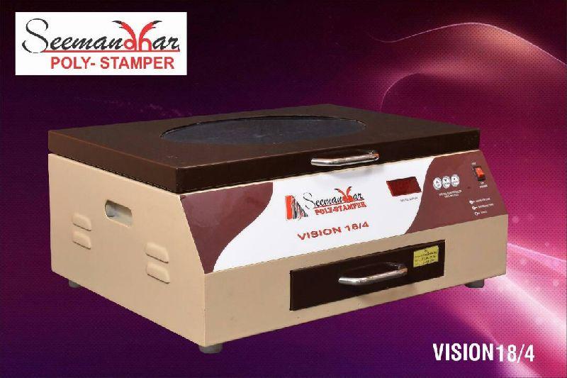 Vision 18/4 Polymer Stamp Making Machine 01