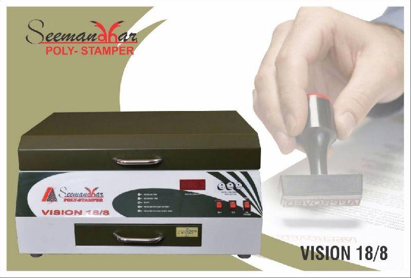 Vision 18/8 Polymer Stamp Making Machine