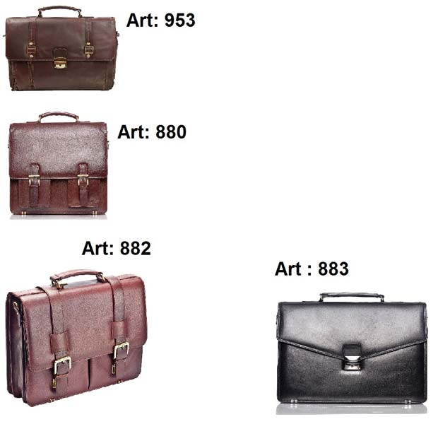 Leather Briefcases/ Office Bags