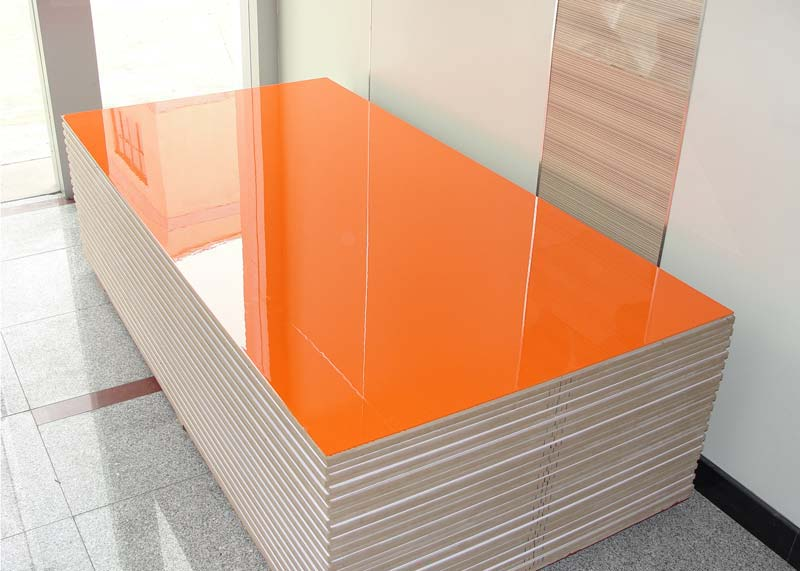 Pre laminated boards melamine particle bagasse