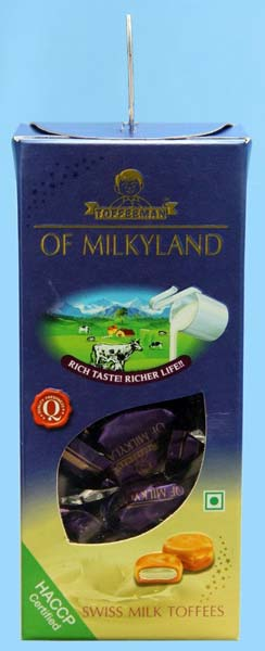 Swiss Milk Toffee