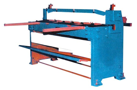 MS Body Treadle Shearing Machine