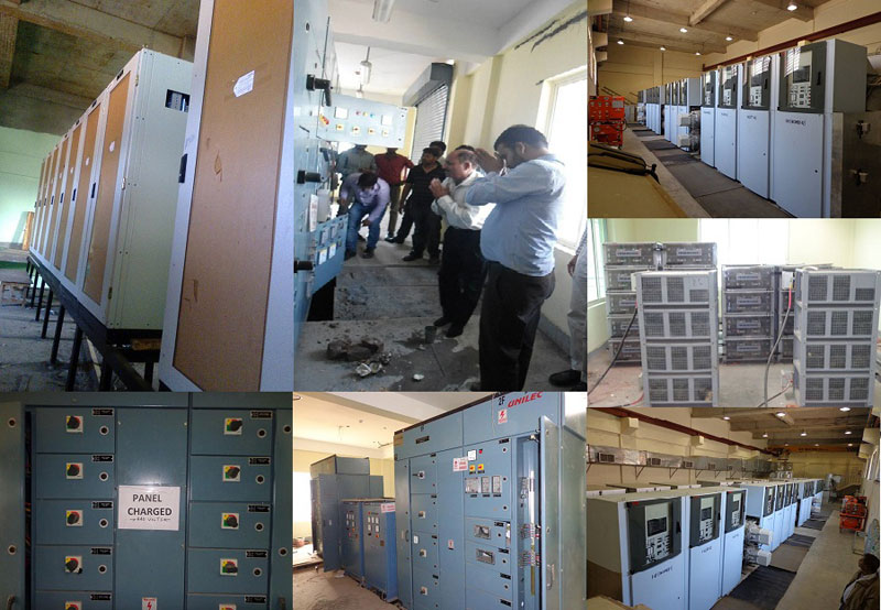 Switchgear Panel Battery Installation