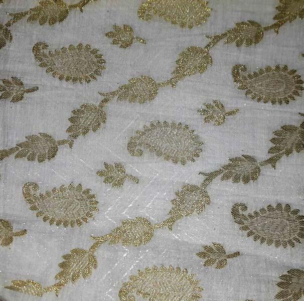 Chanderi Brocade Fabric
