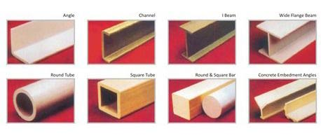 Pultruded Fiberglass Sections