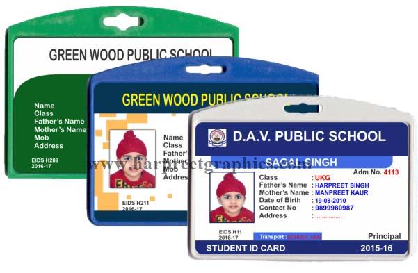 Sticky School ID Promotional Cards