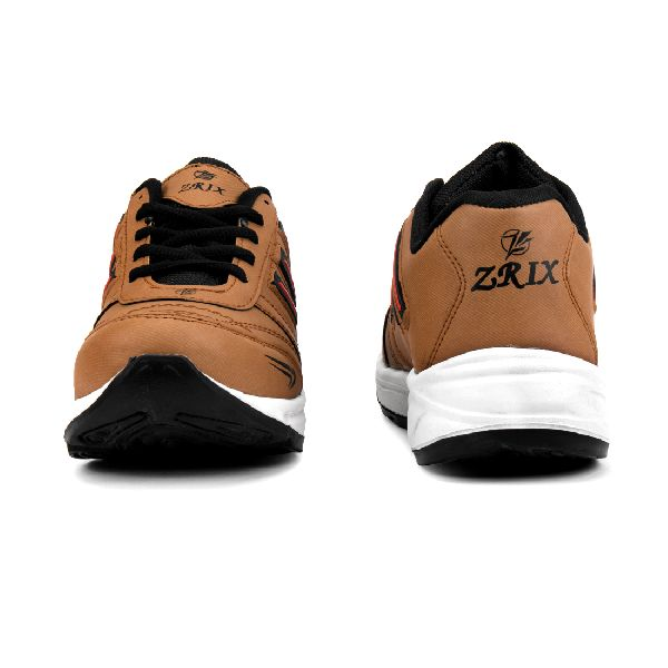ZX 12 Mens Tan Black Shoes 02