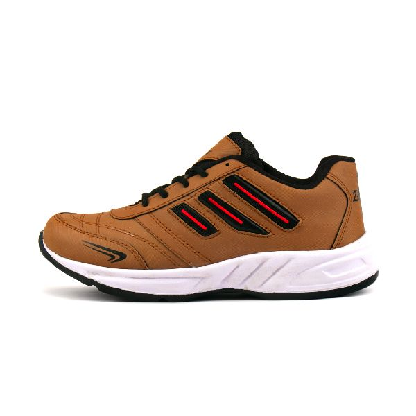 ZX 12 Mens Tan Black Shoes 05