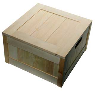 Pine Wood Boxes