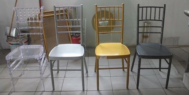 Iron Chiavari Chairs