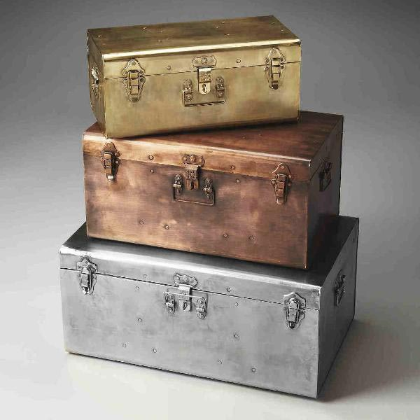 Iron Storage Trunks