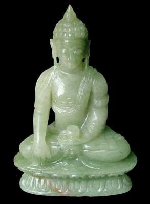 Gemstone Buddha Sculpture