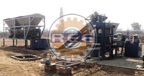 Fly Ash Brick Making Machine (RBM-25)
