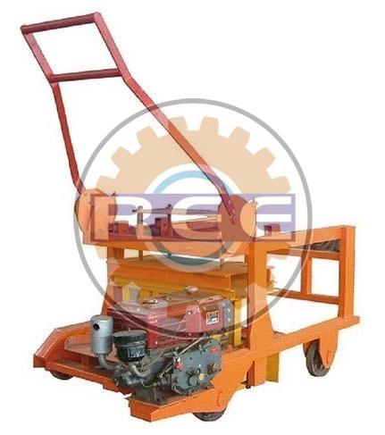 Semi Automatic Egg Laying Block Making Machine (RBM-02)