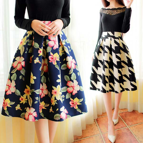 Knee Length Skirts,Knee Length Casual Skirts Manufacturers