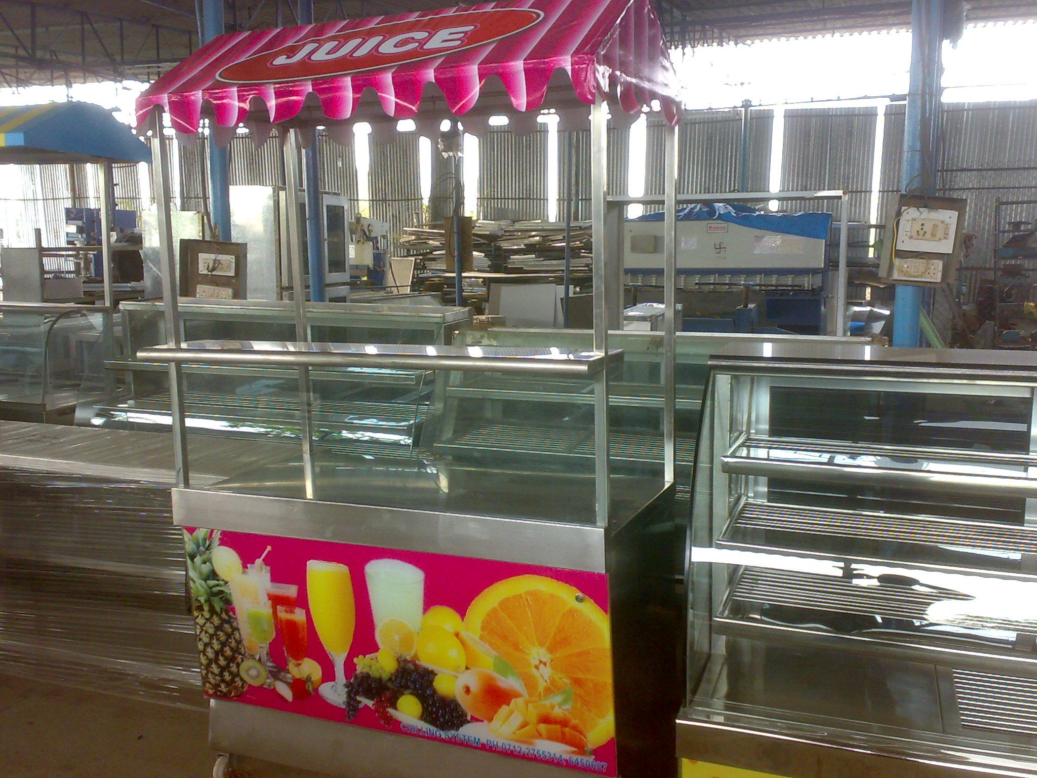Juice Display Counter Fruit Juice Display Counter Juice