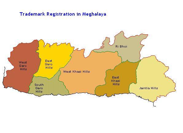 Trademark Registration in Meghalaya,Shillong, Jowai, Nongthymmai, Tura