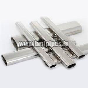 Semi Oval Steel Tubes