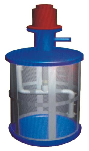 Self Cleaning Foot Valve Filter