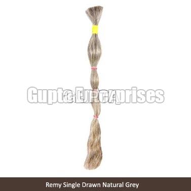 Remy Single Grey Hair