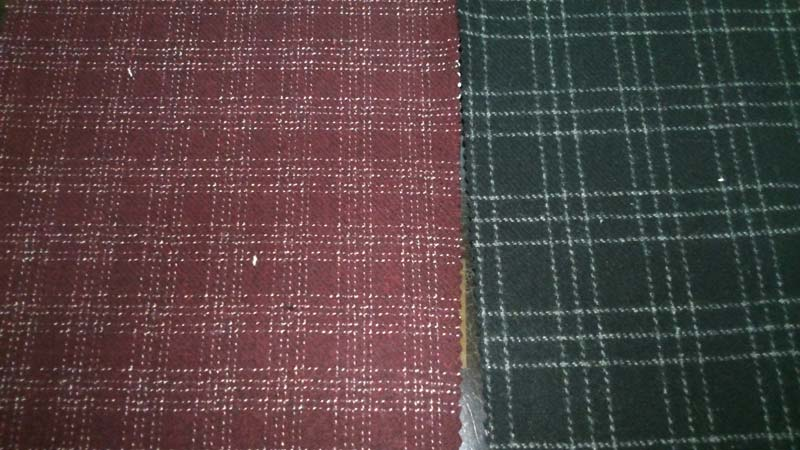 Check Tweed Fabric
