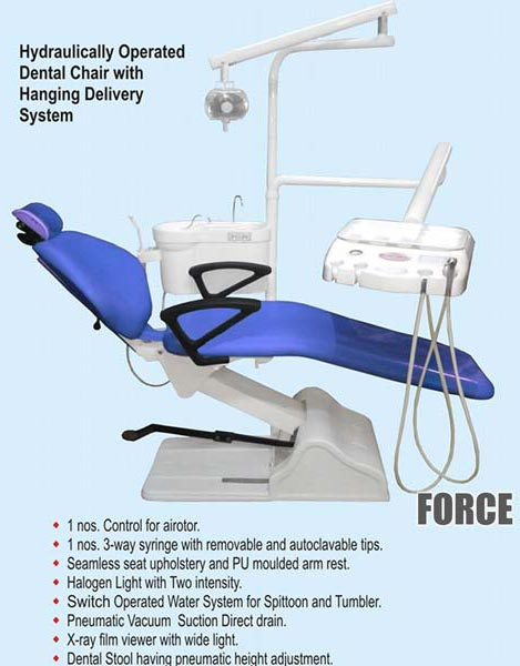 Force Dental Chair Hydraulic Dental Chair Manufacturers In