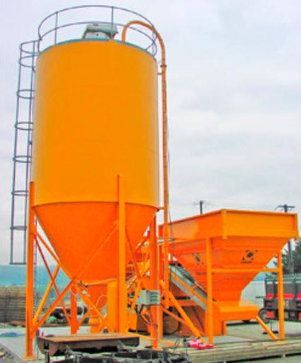Open Circuit Cement Grinding Plant : Cement silo industrial storage