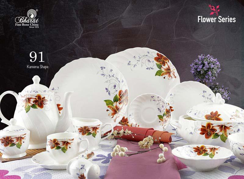 Flower Series Dinner Set