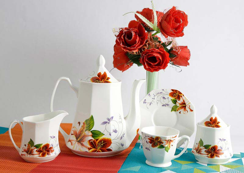 Flower Series Tea Set