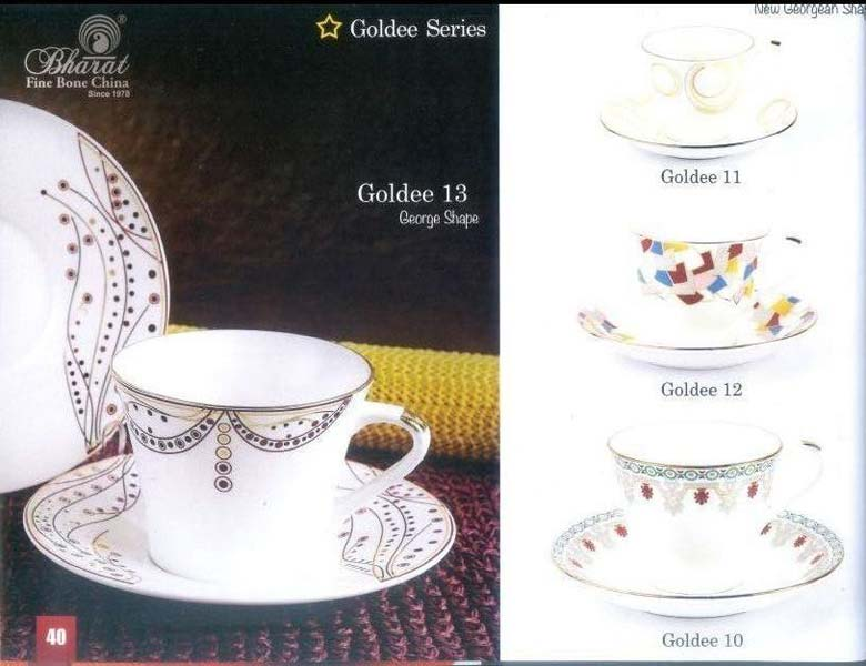 Goldee Series Cup & Saucer Set