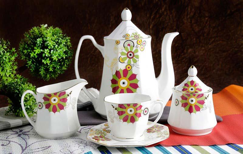 Goldee Series Tea Set