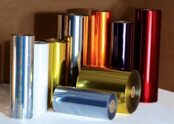 Metallised PVC Film
