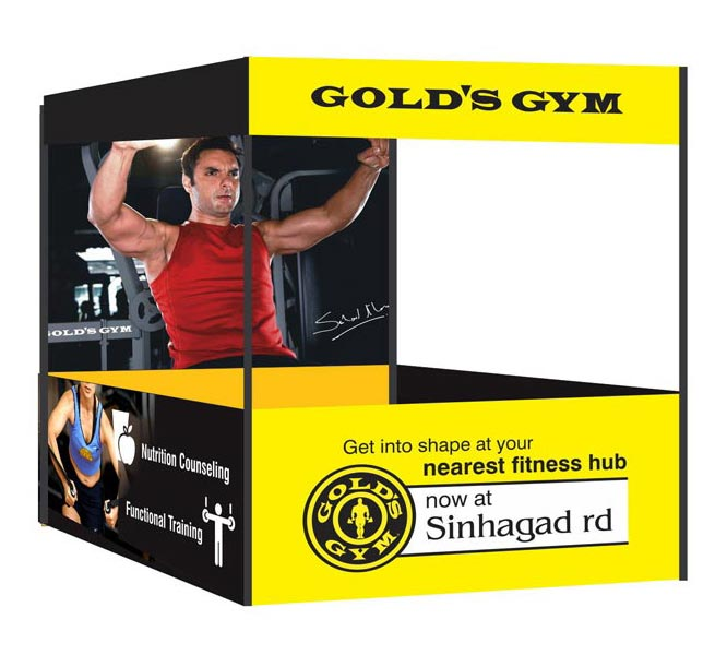 golds gym canopy