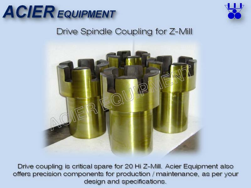 Drive Spindle Coupling For Z Mill