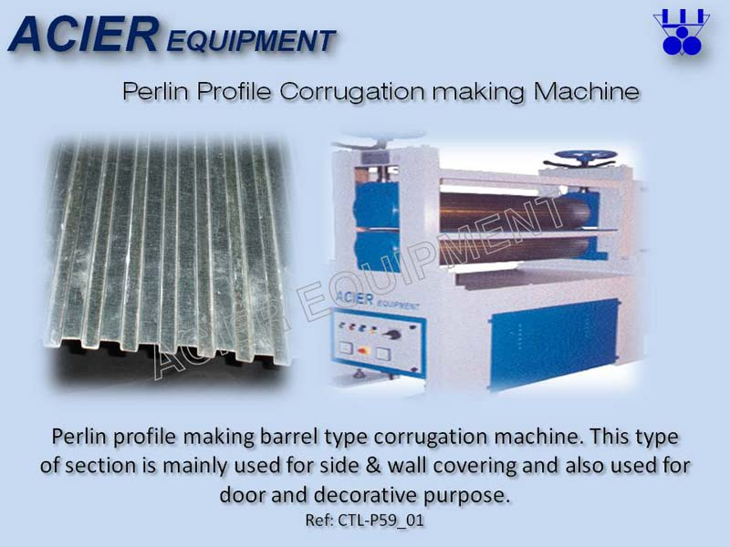 Purlin Profile Corrugation Machine