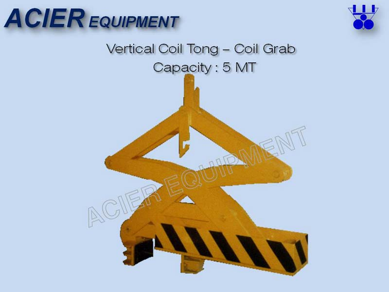 Vertical Coil Tong (Coil Grab)