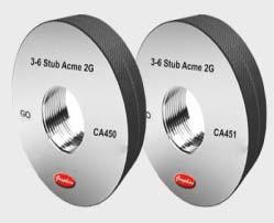 Stub Acme Thread Ring Gauges