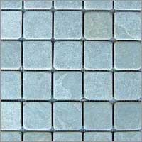 Blue Lime Mosaic