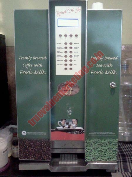 Fresh Milk Tea Coffee Vending Machine