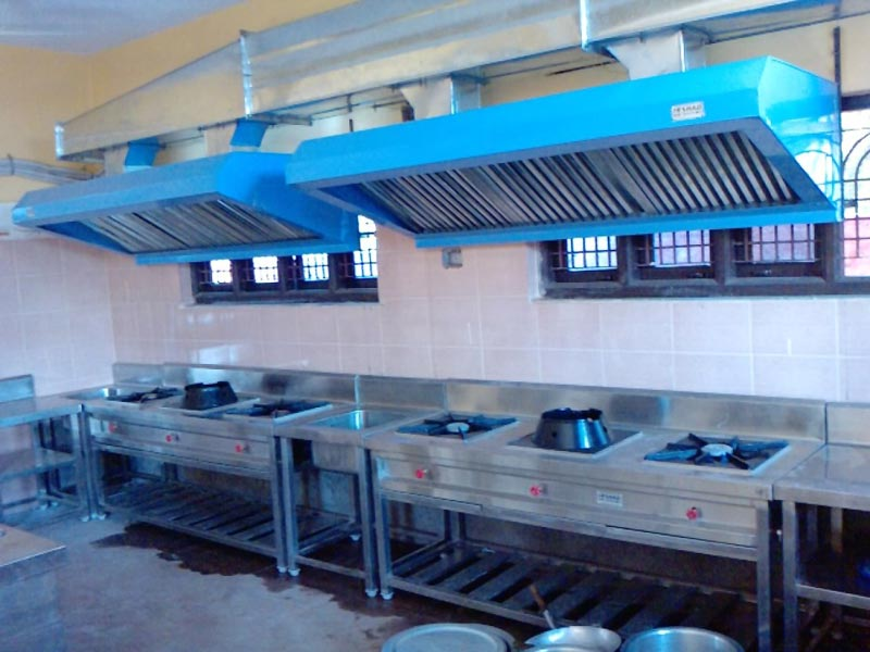 hotel kitchen exhaust ducting manufacturer supplier in solapur india