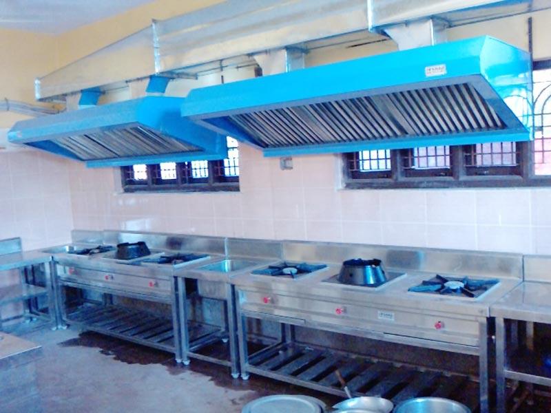 Hotel Kitchen Exhaust Ducting