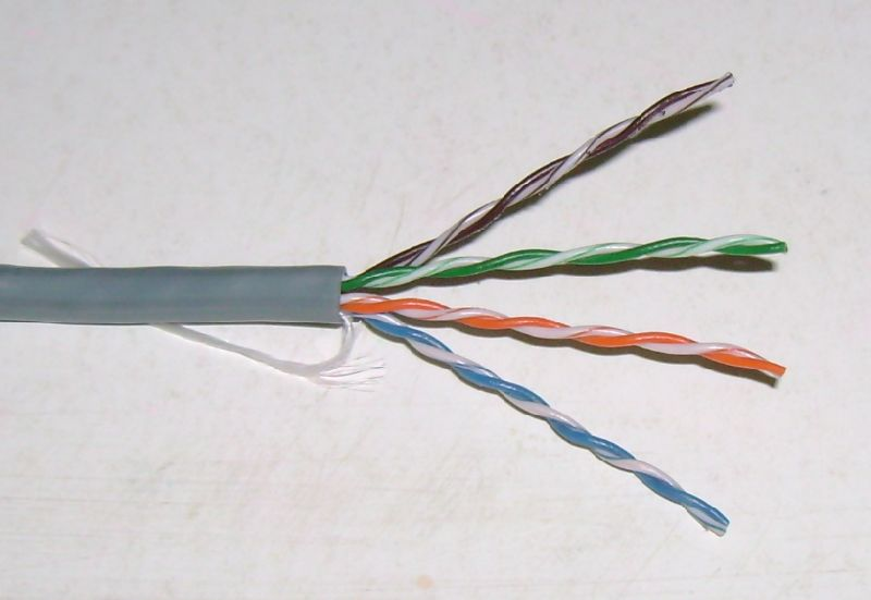 Twisted Pair Lan Cables