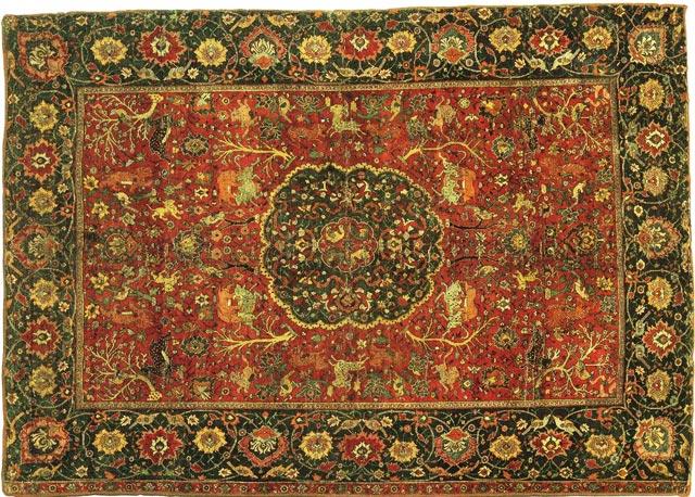 Designer carpetsfloor carpet designs manufacturers in india for Indian carpet designs
