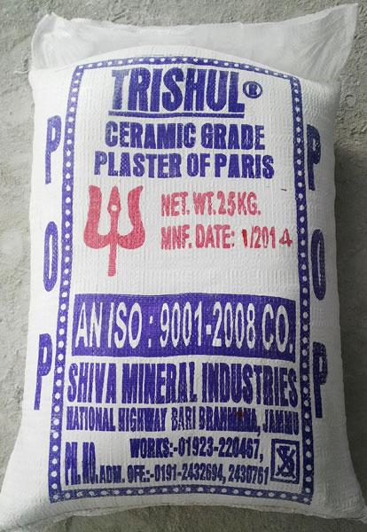 Plaster of Paris (Sanitary Grade)