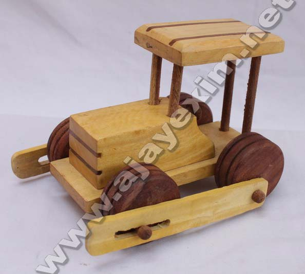 Wooden Road Engine Toy