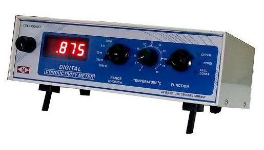 Digital Conductivity Meter : Portable digital conductivity meter electronic