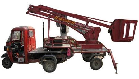 Three Wheeler Sky Lift