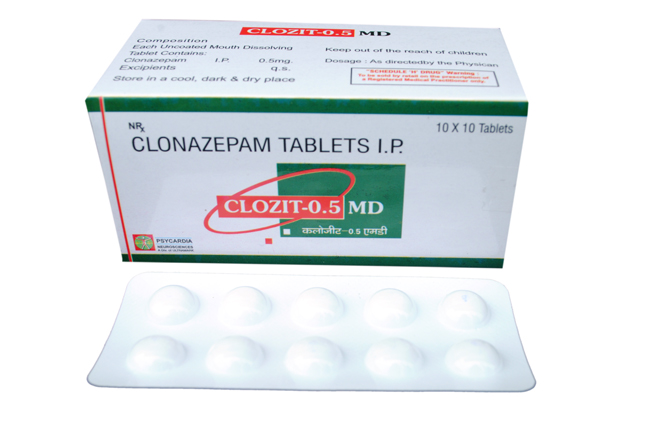 Clozit-0.5 MD Tablets