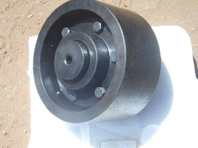 Brake Drum With Gear Couplings