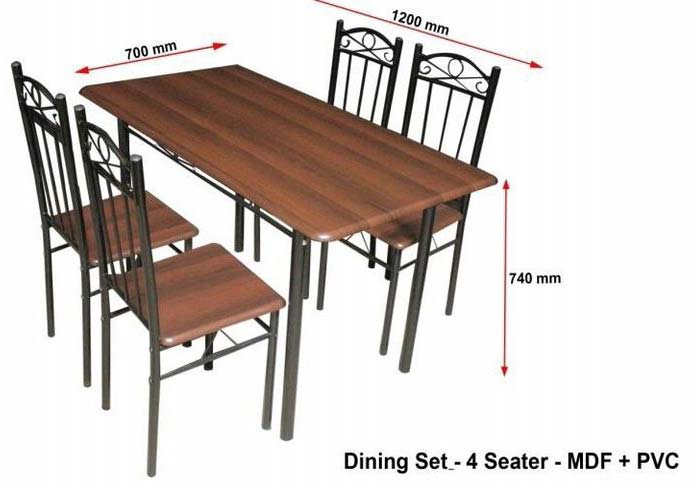 Manufacturer Exporter Supplier Of Metal Dinning Table In Karnataka India